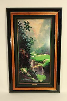 James Coleman Fairway in Paradise Limited Edition Golf Art Print Signed Framed