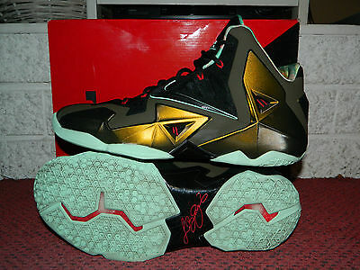 best service 77685 3b5f0 MEN'S NIKE LEBRON 11 XI Kings Pride Limited Edition Shoes 616175-700 Size 13