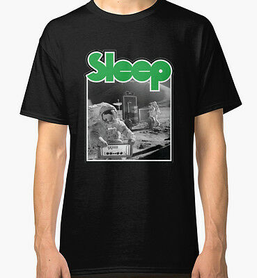 Sleep Band Stoner Doom Metal Men's Black Tshirt Tees Clothing