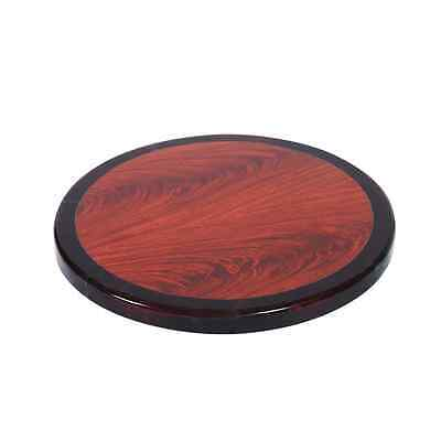 New Wood Edge Table Top Restaurant Furniture Cherry Mahogany Round 30 RESCDM