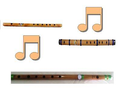 Combo Set of 3 Flute in One Set By Best Indian Professionals  Musical Instrument