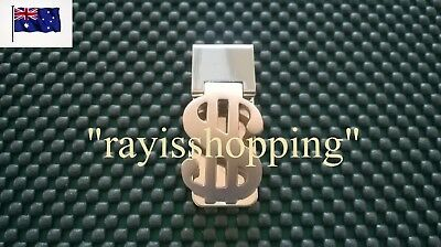 Dollar Sign $ Wallet Note Money Clip Holder Credit Cards ID License Stylish Safe