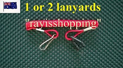Boat Jetski Jet ski Lanyard Engine Killswitch Kill Switch Red PWC Spring Stretch