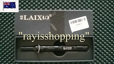 GENUINE LAIX D3 Tactical Whistle Knife Fire Starter Compass BLACK GOLD GREY
