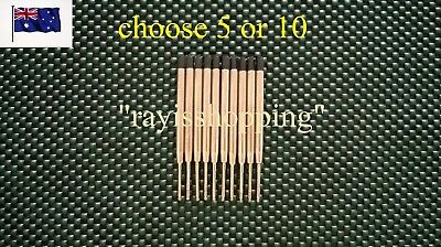5or10 BLACK, BLUE, INK, LAIX TACTICAL PEN REFILL, Re-Fill, Parker Standard Style
