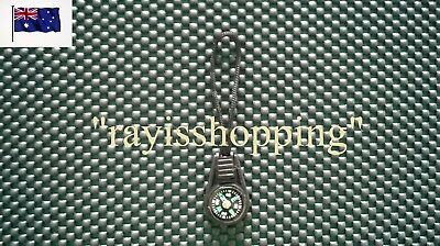 1 x Zipper Bag Strap Compass Black Hiking Camping Liquad Filled Cool Compact