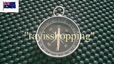 Pocket Compass Orientation Map Direction North South East West Camping Hiking
