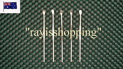 5 x Ear Wax Remover Removal Scoop Stainless Tool Pick Picker Clean Cleaner