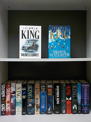 Stephen King - 1st Editions - 17 Books Collection! (ID:44956)
