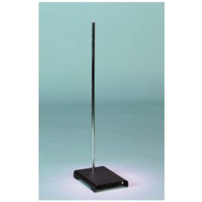 """Scientific Support Stand Rod 9""""x6"""" Laboratory Metal Grip Support Science Work"""