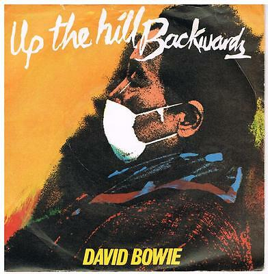 DAVID BOWIE Up the hill backwards / Crystal Japan RCA 9671 classic pop from 1981