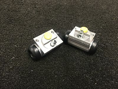 FOR FORD FIESTA 1.4 ZETEC TDCi REAR BRAKE WHEEL CYLINDERS PAIR NEW
