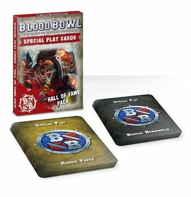 Blood Bowl Special Play Cards Hall of Fame Pack Deutsch Games Workshop Football