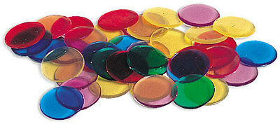 Learning Resources Transparent Colour Counters Set Of 250 **New**
