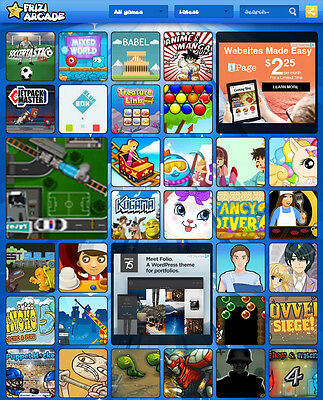 Online Games Website For Sale - 100% automated