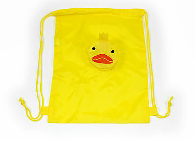 New Duck Whale Drawstring Bag School Holiday Swimming Sport Kids Baby Toddler