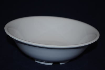 "NEW  4Dz   41oz  US 5070 Melamine 8"" Rimless Bowl White NSF  Free Shipping"