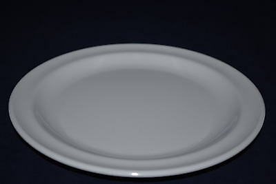 "4 Dz   New Melamine US108  8"" Round Dinner Dessert Plate (White) DP-508"