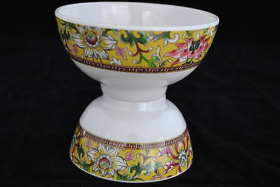 "1 Dozen  New  Melamine  10 oz       4.8""   Soup, Rice  Bowl   Dynasty"