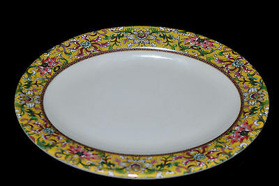 "1 Dz New Melamine LCP02090D 9""Oval Dinner Plate (8-7/8"" X6-3/8"")Dynasty pattern"