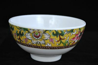 "2 Dozen  New  Melamine  8 oz       4.5""   Soup, Rice  Bowl   Dynasty"