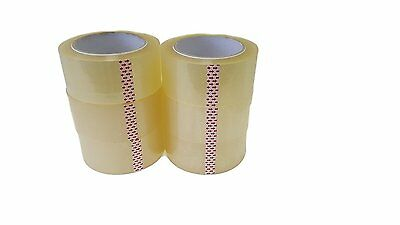 "6 Rolls-2""x110 Yards(330' ft)–Box Carton Sealing Packing Shipping Package Tape"