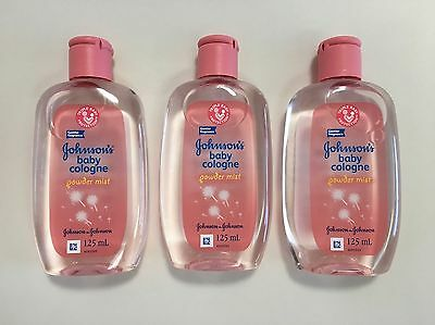 3 Johnson's Baby Cologne Powder Mist - NEW from the Philippines