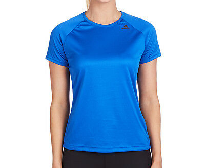Adidas Women's D2M Loose Tee - Royal Blue