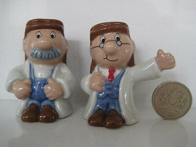 Vintage Wade England Tetley Gaffer And Gordon Ltd Ed With Cert Solid Miniatures