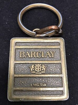 Vintage Barclay Key and Fob, Rare
