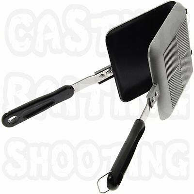 Toastie Maker Toasted Sandwich Deep Fill Cooker Pan Cooking Coarse Carp Fishing