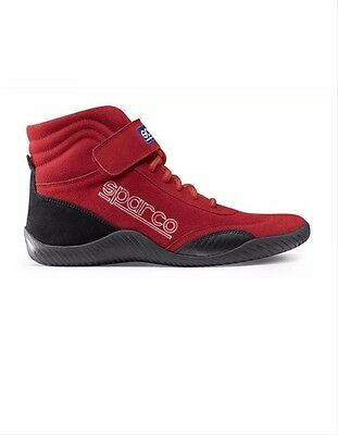 Sparco Race Competition Shoes Red Size 8.5 Euro 42 SFI 3/3.5 00127085R