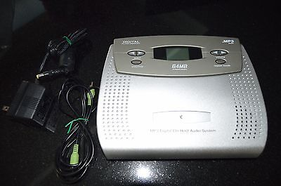 MP3 Digital On Hold Audio System 64mb Digital Flash Memory X321