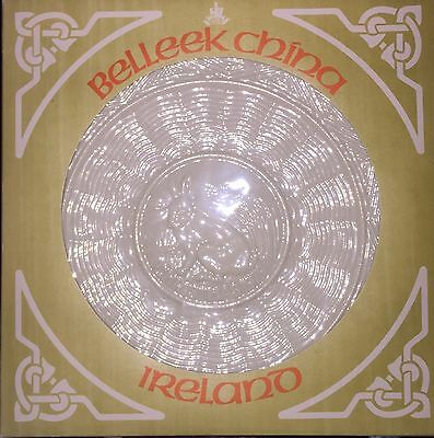 Belleek Fine Irish China 1979 Christmas Plate Hare At Rest  MIB