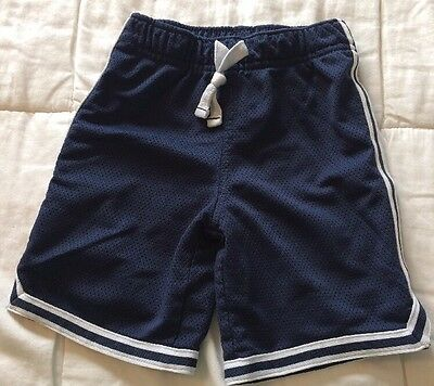 Carter's Summer Navy  Play Mesh Shorts Toddler Boy Clothes Size 4t
