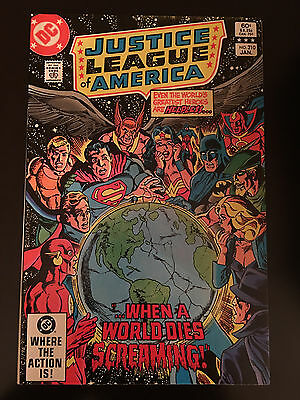 Justice League of America (1960 1st Series) #210 VF Very Fine DC Comics