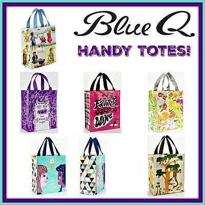 Buy 1 Get 1 50% OFF Blue Q Handy Tote 95% Recyclable Totes FREE SHIPPING!