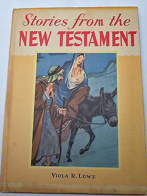 VINTAGE  Stories From the New Testament Hardcover – 1944 by Viola Low Bible Kids
