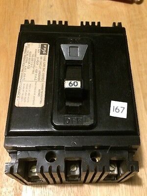 Federal Pacific FPE type NEF circuit breaker NEF431060 60amp