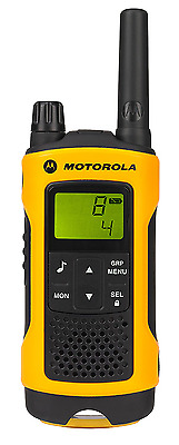 Motorola Talker T80 Extreme PMR446 2-Way Walkie Talkie Radio Twin Pack - Yellow