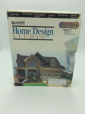 New Sealed Punch Home Design Studio for Mac