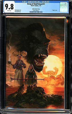 Kong of Skull Island #1 CGC 9.8 Robles Variant Cover