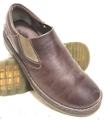 DR MARTENS ORSON Brown Leather Slip On Loafers Shoes Men's Size 11