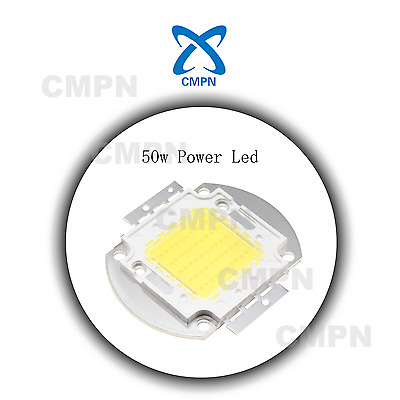 1Pcs 50W High Power White 6000-6500k LED Buld Flood Light Lamp Diodes SMD Chip