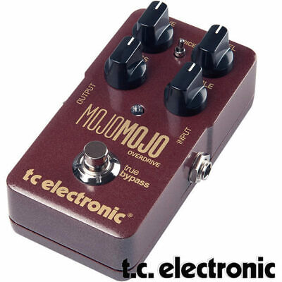 TC Electronic Mojo Overdrive Distortion Guitar Effect Pedal