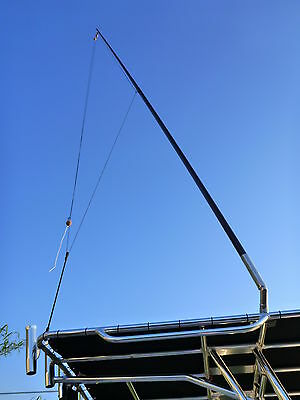 2 x 4.5 metre Outrigger Poles. 40mm. Suit Reelax and other 40-42mm Outriggers