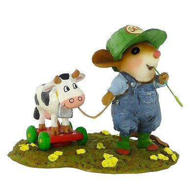 TIMOTHY & BELLE by Wee Forest Folk, WFF# M-445, Retired 2017