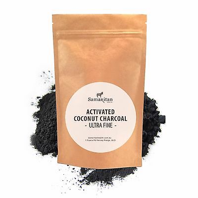 New Samaritan Health Activated Charcoal Powder Organic Coconut Food Grade Detox