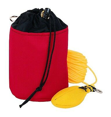 Weaver Leather Throw Line Storage Bag, Red