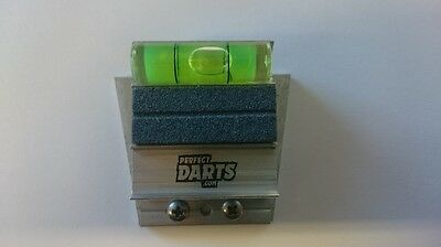 Perfect Darts Referee Tool - Align Your Dartboard - Darts Spirit Level - Metal